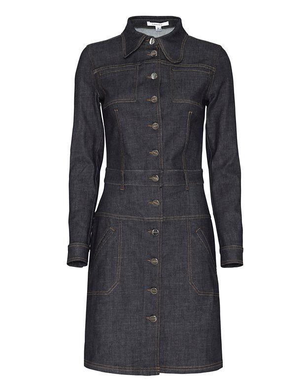 a13520e99a Carven Collared Denim Dress