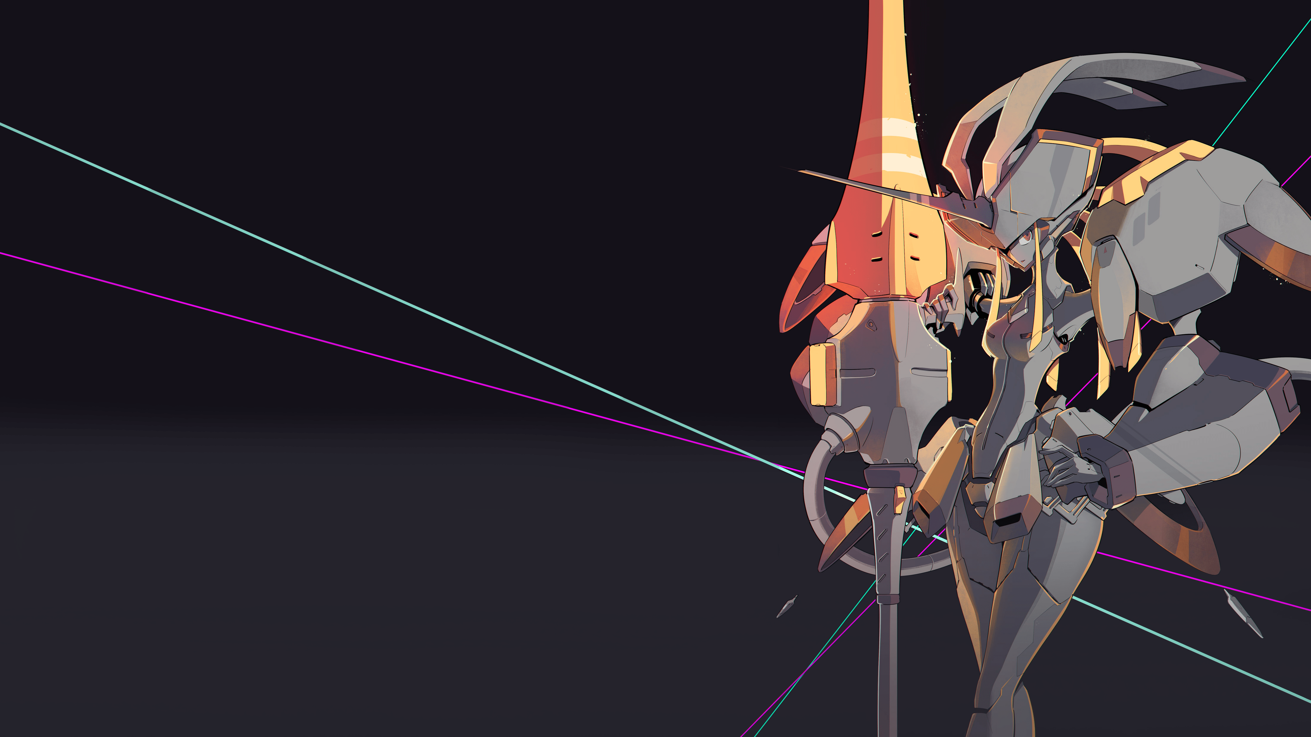Free Download Darling In The Franxx Key Visual Edit Hd Wallpaper From 4425x2489 For Your Desktop Mobile Darling In The Franxx Anime Wallpaper Live Darling