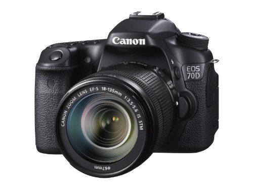 Canon Eos 70d 20 2 Mp Digital Slr Camera With Dual Pixel Cmos Af And Ef S 18 135mm F3 5 5 6 Is Stm Kit From Digital Slr Camera Dslr Camera Canon Digital Camera