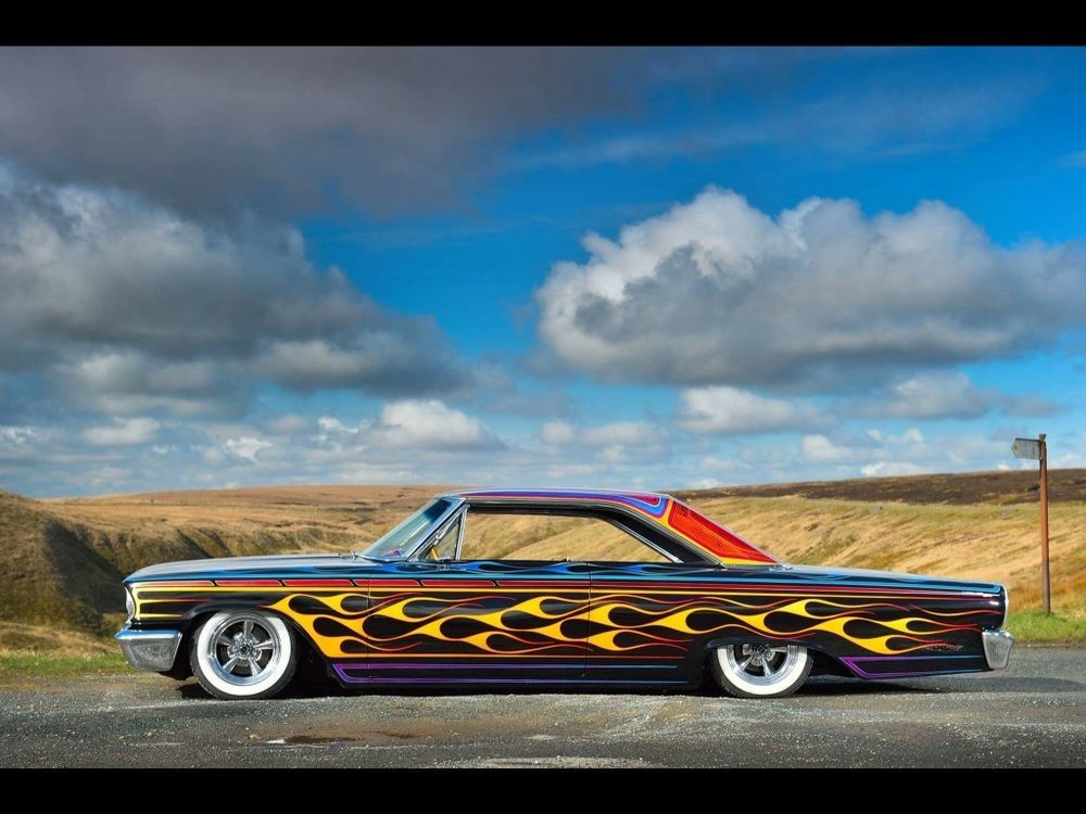 1963 and a half Ford Galaxie. 352 FE motor and auto box