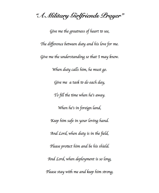 The military girlfriends prayer not my prayer but my document the military girlfriends prayer not my prayer but my documentdocument created by me altavistaventures Gallery