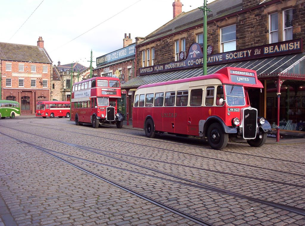 United Preserved Bristols In Beamish