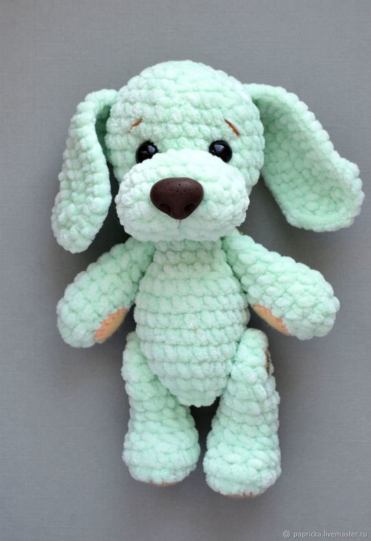 Crochet dog crochet inspiration pattern #knittedtoys