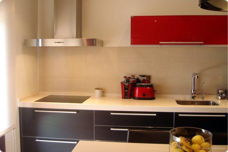 Cocina roja tab Pinterest Kitchens