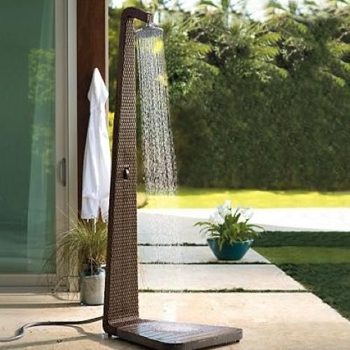 Portable Outdoor Shower Designs Outdoor Showers