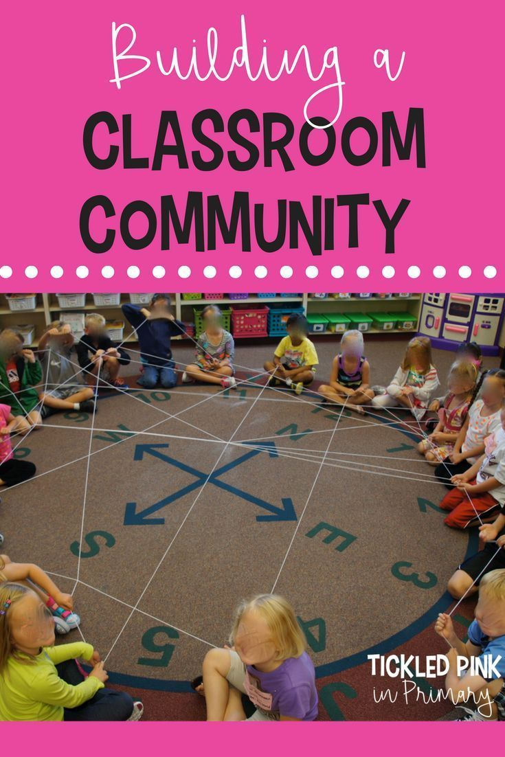 How to Build a Classroom Community Atmosphere | Bright Ideas for the ...