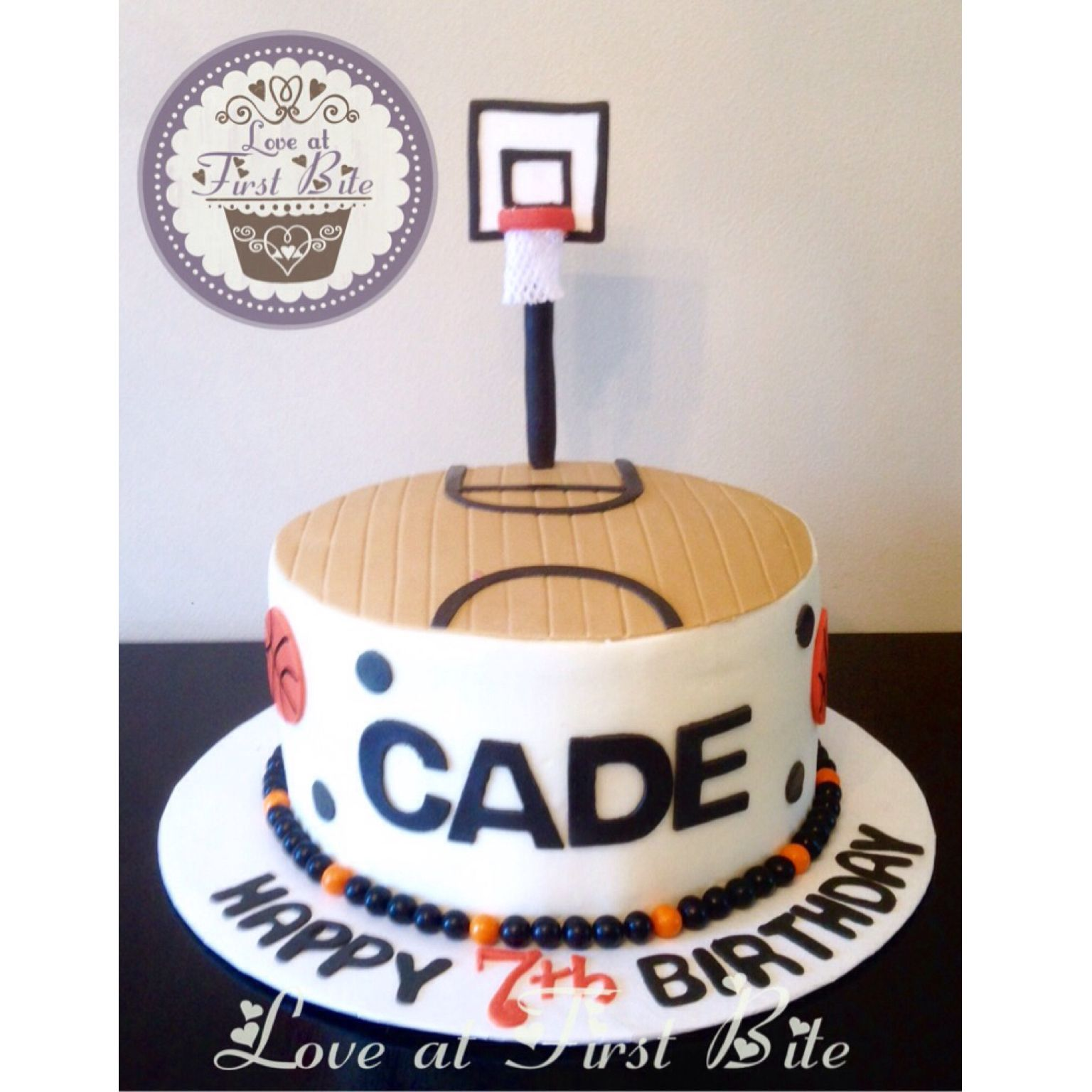 Basketball Cake By Love At First Bite In Nashville TN