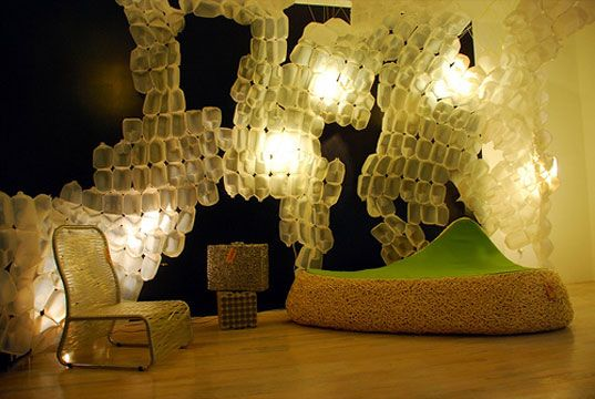 interior designers who use recycled materials recycled