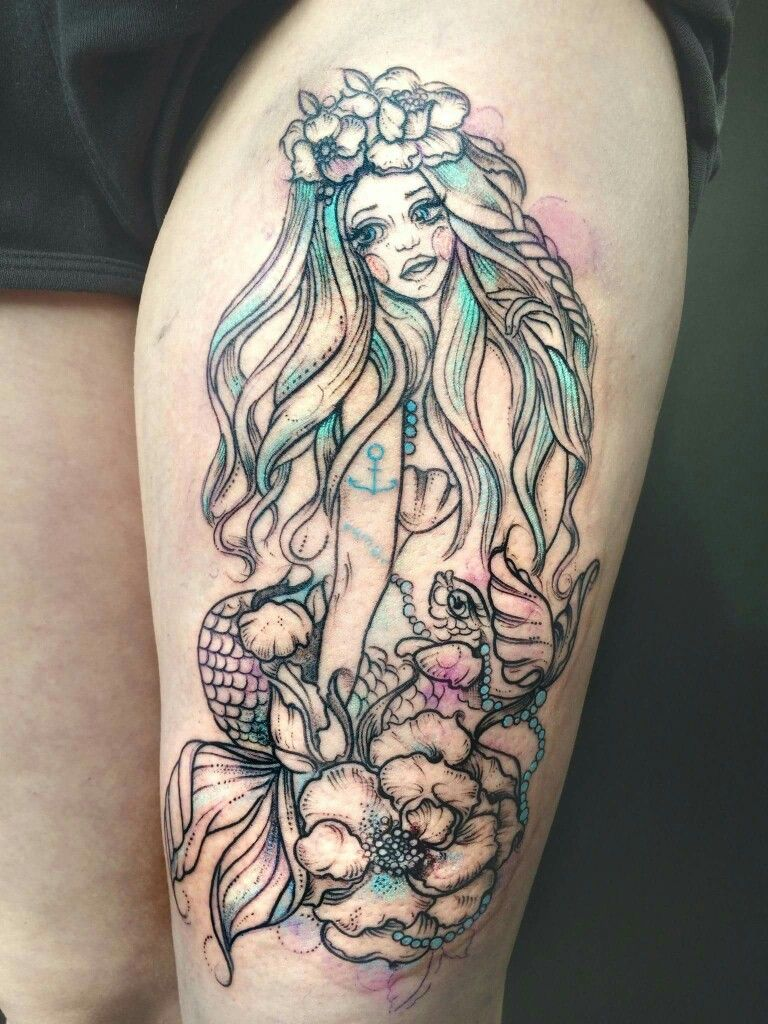 Pin by Priscilla Blanco on Tattoo ideas Mermaid tattoos