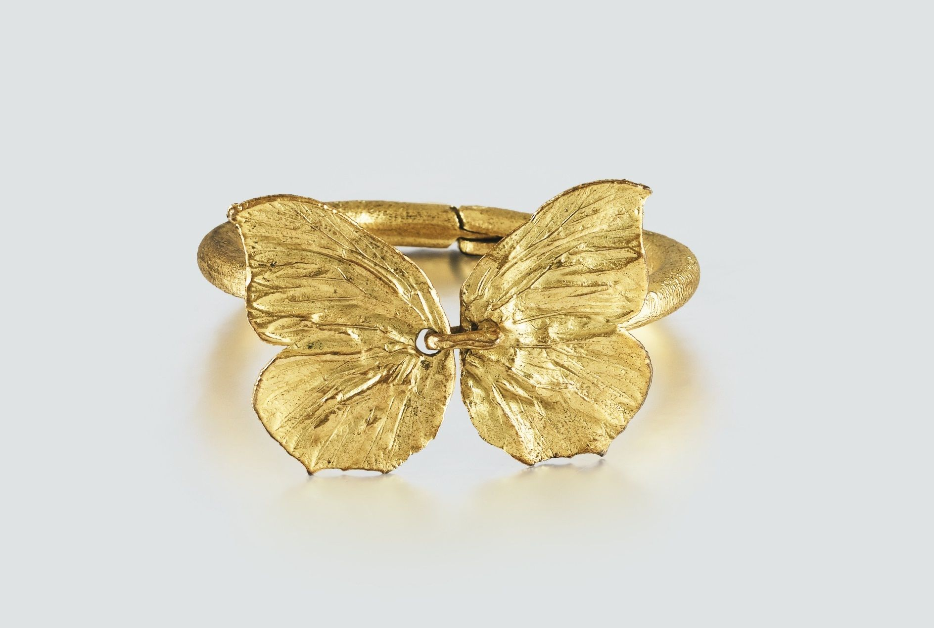 Claude Lalanne Bracelet Papillon Grand Modele 1978 Papillon A Gilded Bronze Bracelet 1978 Signed Numbered And With Edito Francois Xavier Claude Jewelry