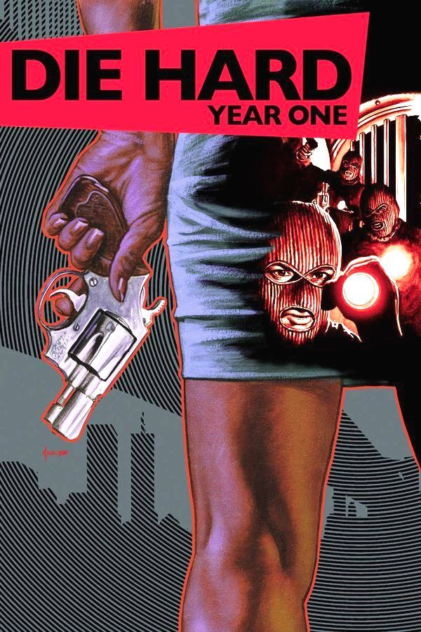 Die Hard / Year One 6 cover / 2009 (Joe Jusko & Dave Johnson)