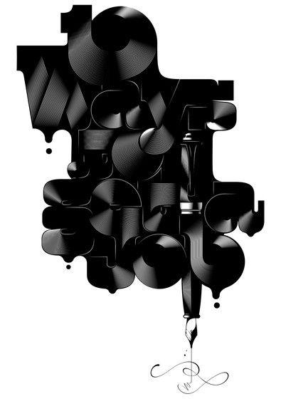 Alex Trochut via Début Art