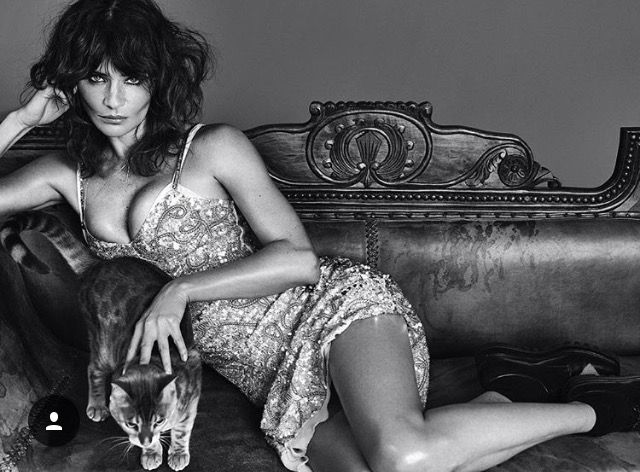 Helena Christensen - Vogue Portugal Sept. 2016