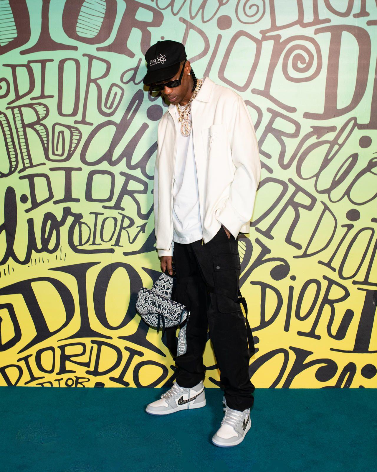 Dior x Travis Scott x Air Jordan 1 Dior, Travis scott