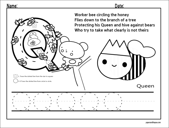 10 Best images about Letter Q Worksheets on Pinterest ...