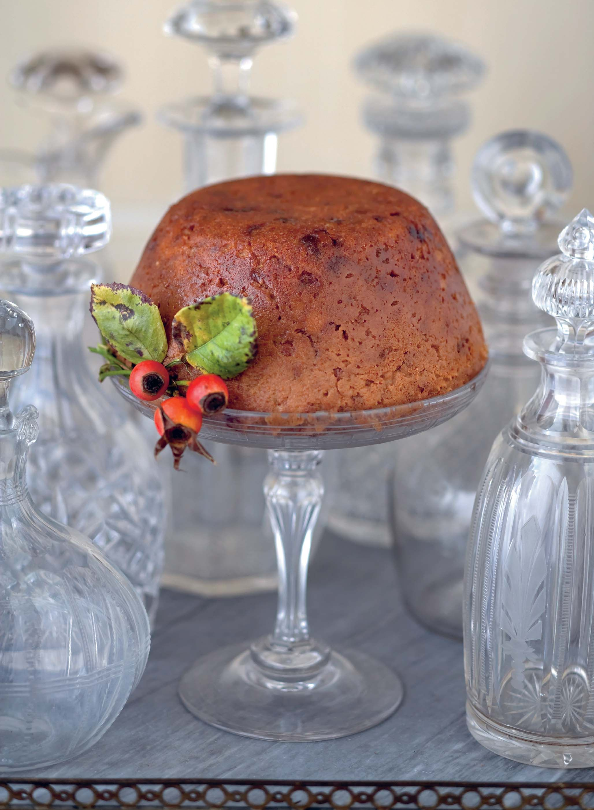 how to cook plum pudding