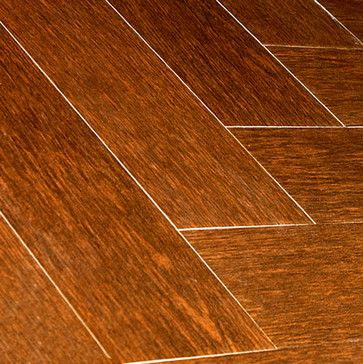 Oak Wood Plank Porcelain - modern - floor tiles - orange county - Tile-Stones