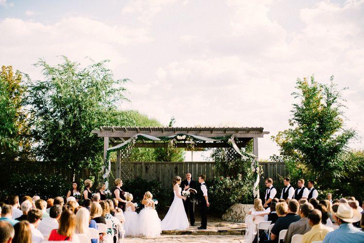 Outdoor Wedding Venue Tanginyaka Zoo Wichita Kansas Josh Hicks Photography