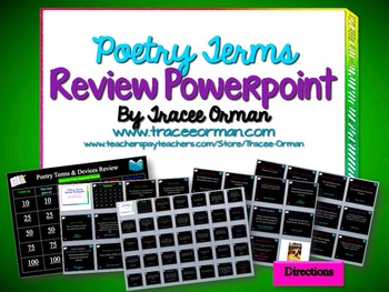 poetic devices powerpoint high school