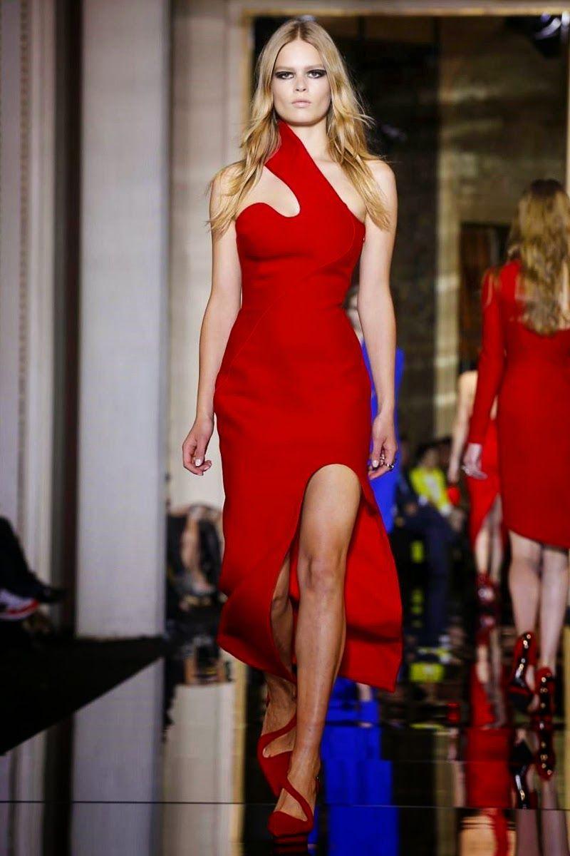 Mis Queridas Fashionistas: Atelier Versace- -Spring Summer 2015 Couture (Paris) & Details