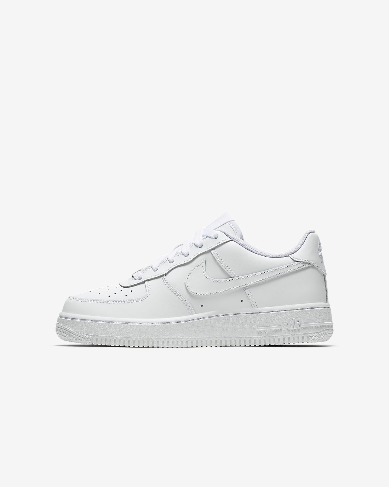 nike air force one kids white