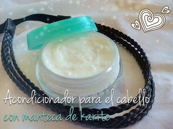 Acondicionador Casero Para El Cabello Con Manteca De Karité Y Aceite De Coco Acondicionador Casero Champú De Coco Acondicionador