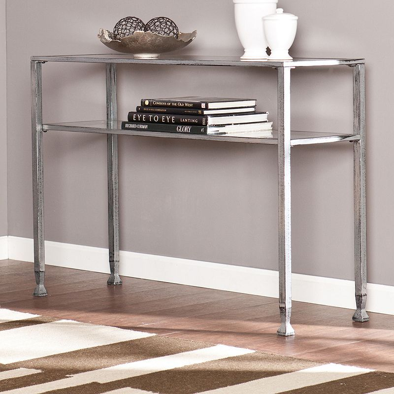Southern Enterprises Two-Tiered Console Table, Other Clrs