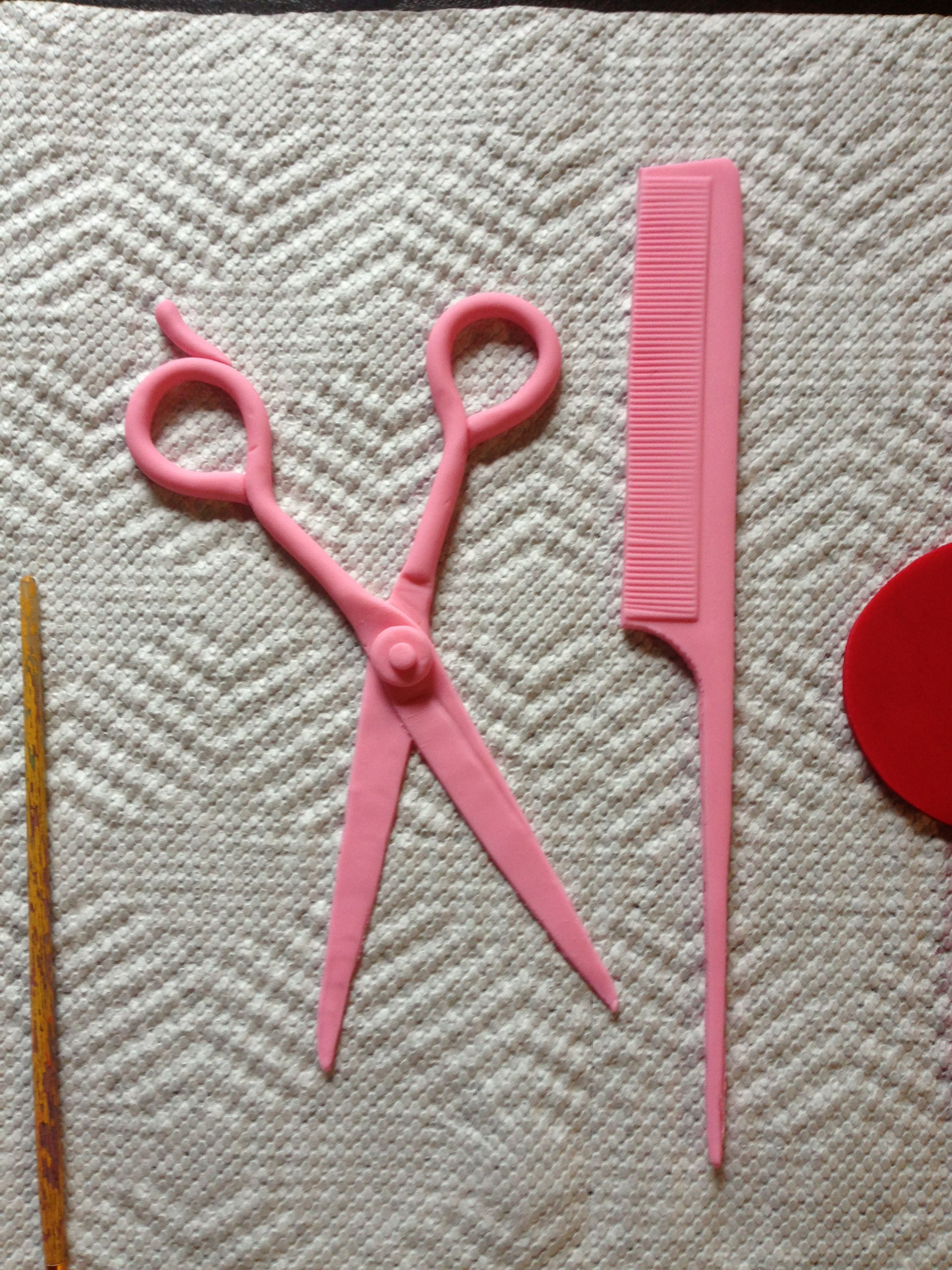 Fondant Shears And Weavin Comb Pick Handmade By Me Mallory Gray