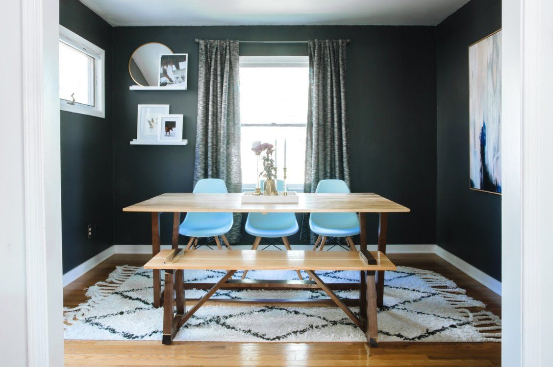Amazing Dining Room Redos That Prove Anything's Possible  Room Simple House With No Dining Room Inspiration