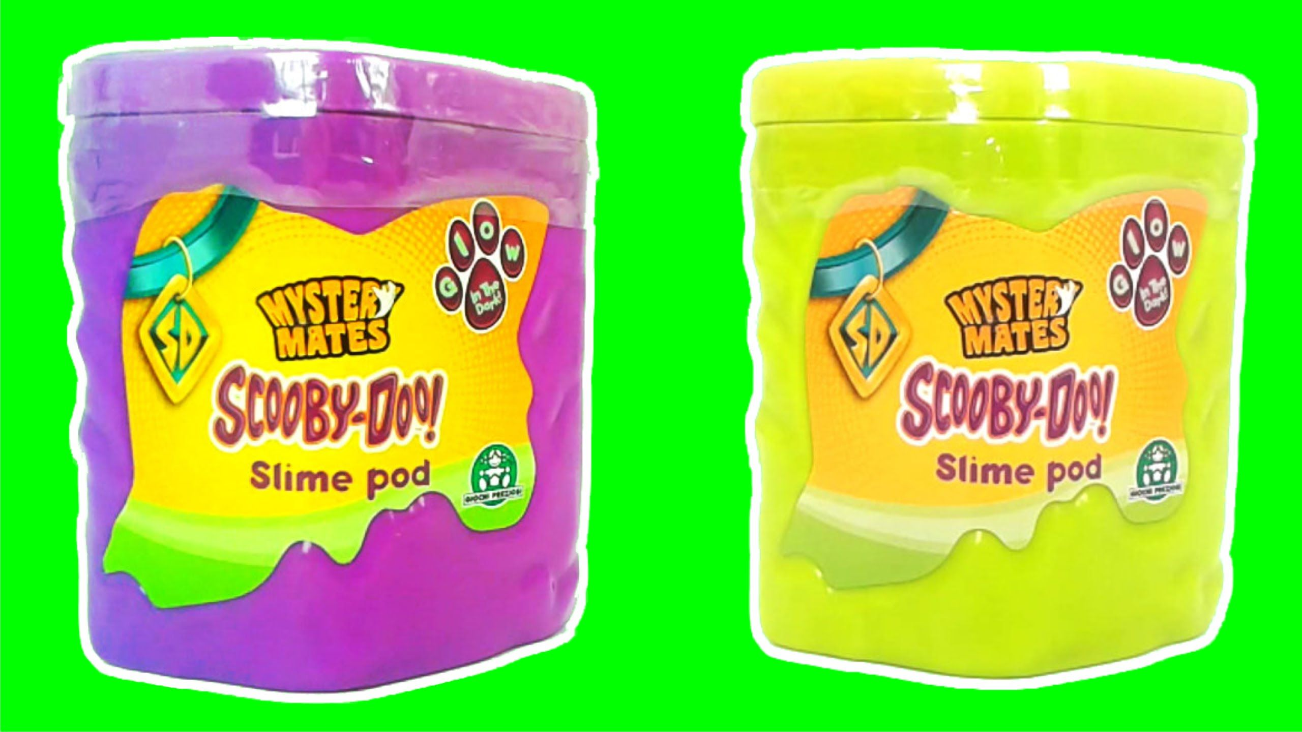 Slime Surprise Toys Scooby Doo Mystery Mates Slime Pod Unboxing Video Scooby Doo Mystery Unboxing Videos Slime