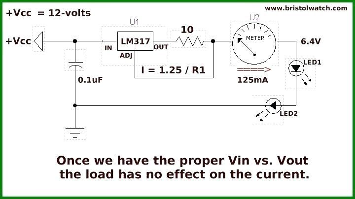 Lm317 Current Limiter Used With Solar Panelsolar Panel Charge Regulator Circuit Build A Voltage Charger At Home Current Source Constant Current Circuit