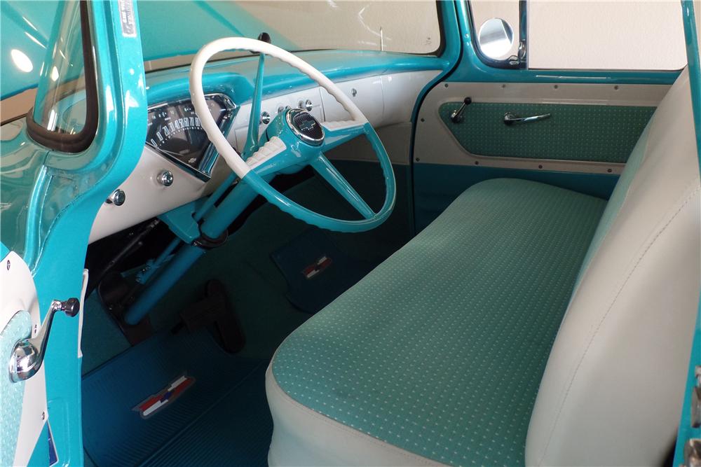 1957 Chevrolet Cameo Pickup Interior 201695 1957 Chevrolet