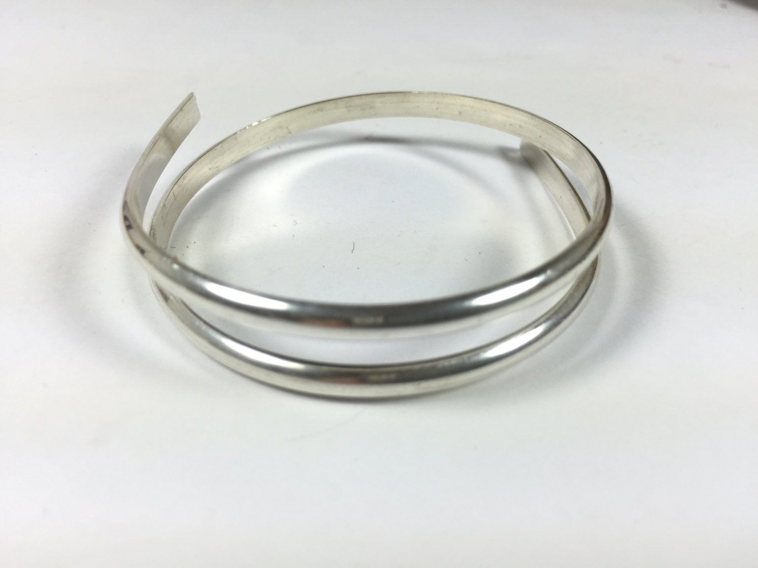 half Round sterling wire, sold by 1 foot, heavy 6 gauge size, solid ...