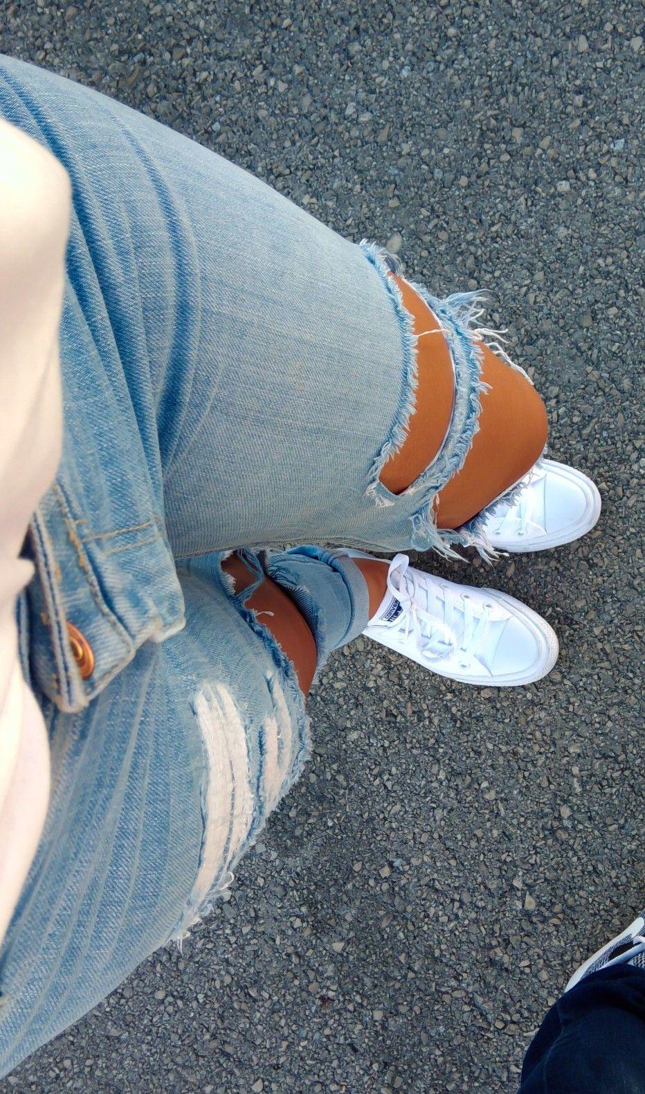 Н©ð¢ð§ððžð«ðžð¬ð Н¦ð¨ð«ððšð§ð°ð¢ð¥ð¤ð¢ð§ð¬ð¬ Pantalones Rotos Mujer Pantalon A La Cintura Zapatos Tumblr