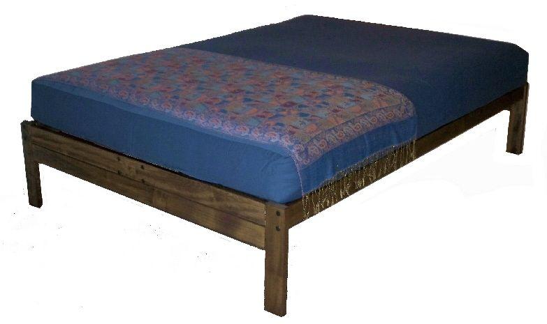 Best Santa Cruz Platform Bed Rustic Walnut King Is 269 400 x 300