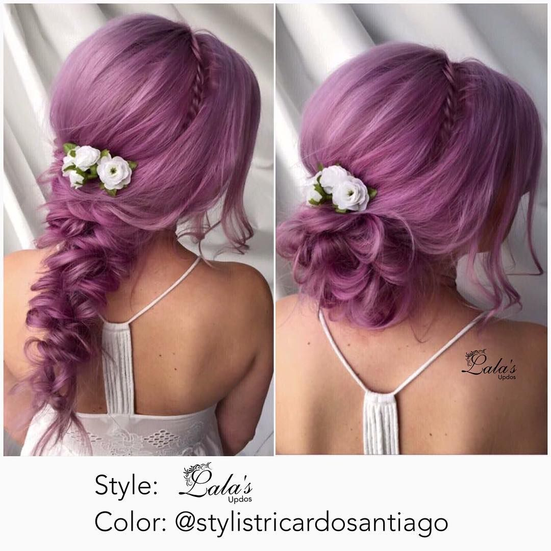 Up & Down 💜 Color by @stylistricardosantiago 💜 Style by @lalasupdos 💜