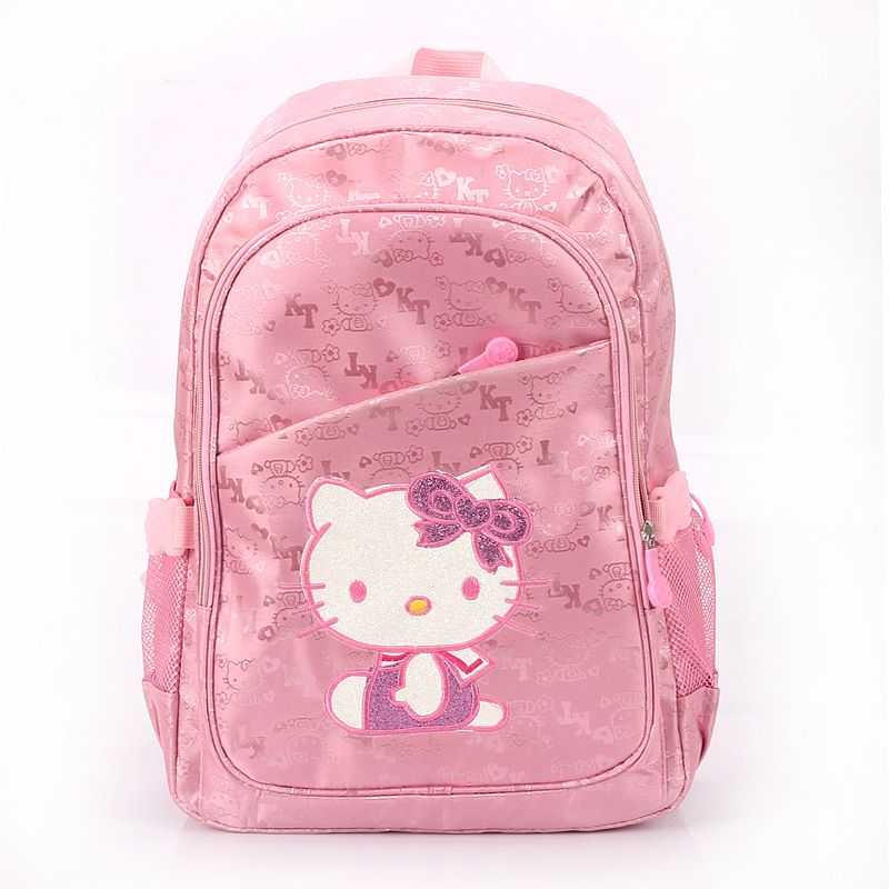 Cute children school bags cartoon hello kitty large backpack kids bags for  girl Child shoulder bags-in School Bags from Luggage   Bags on Al.. 0dc5b3d214507