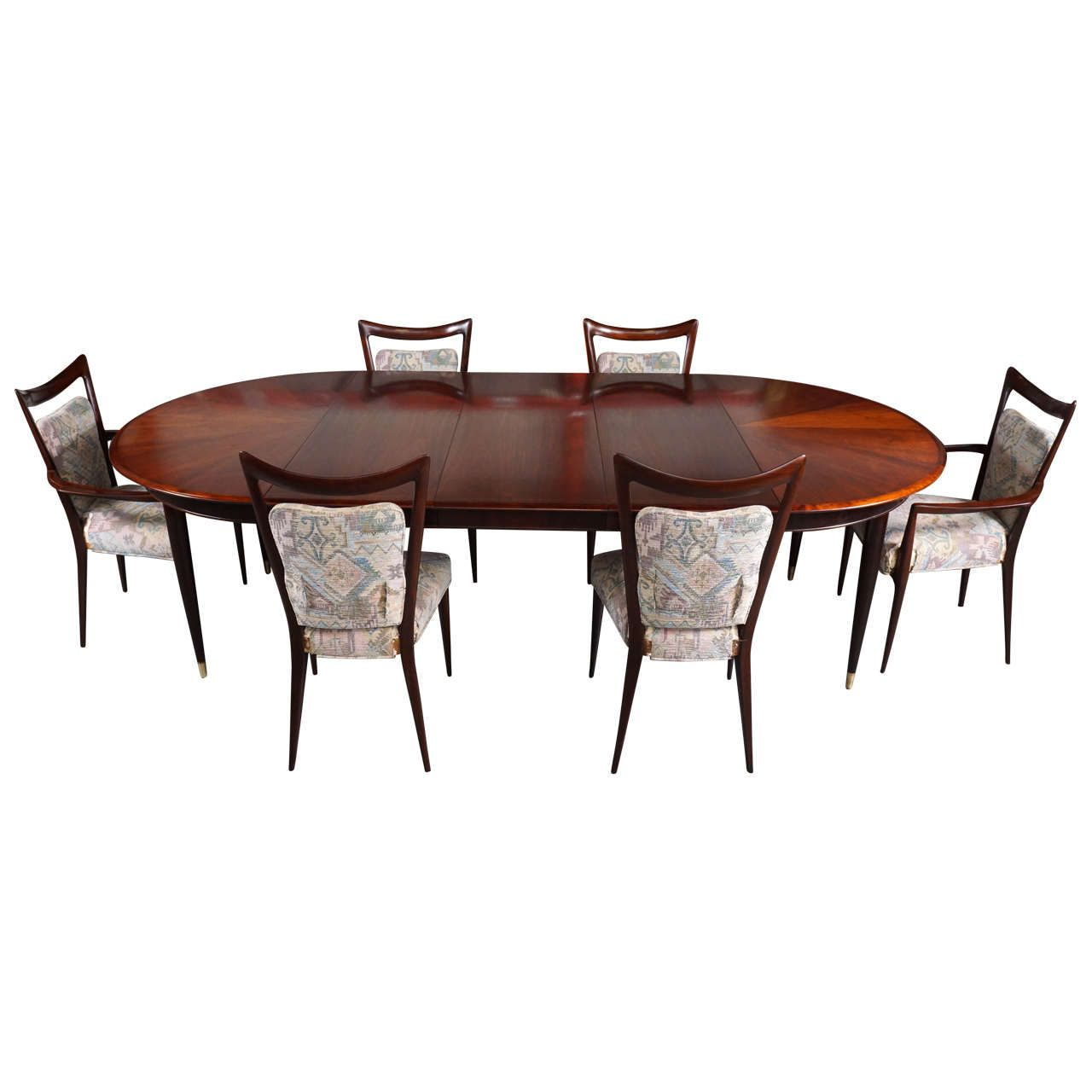 Melchiorre Bega Mahogany Dining Set 10 Chairs Table With Three Leaves Italy Dining Room Table Dining Room Arm Chairs Beautiful Dining Rooms