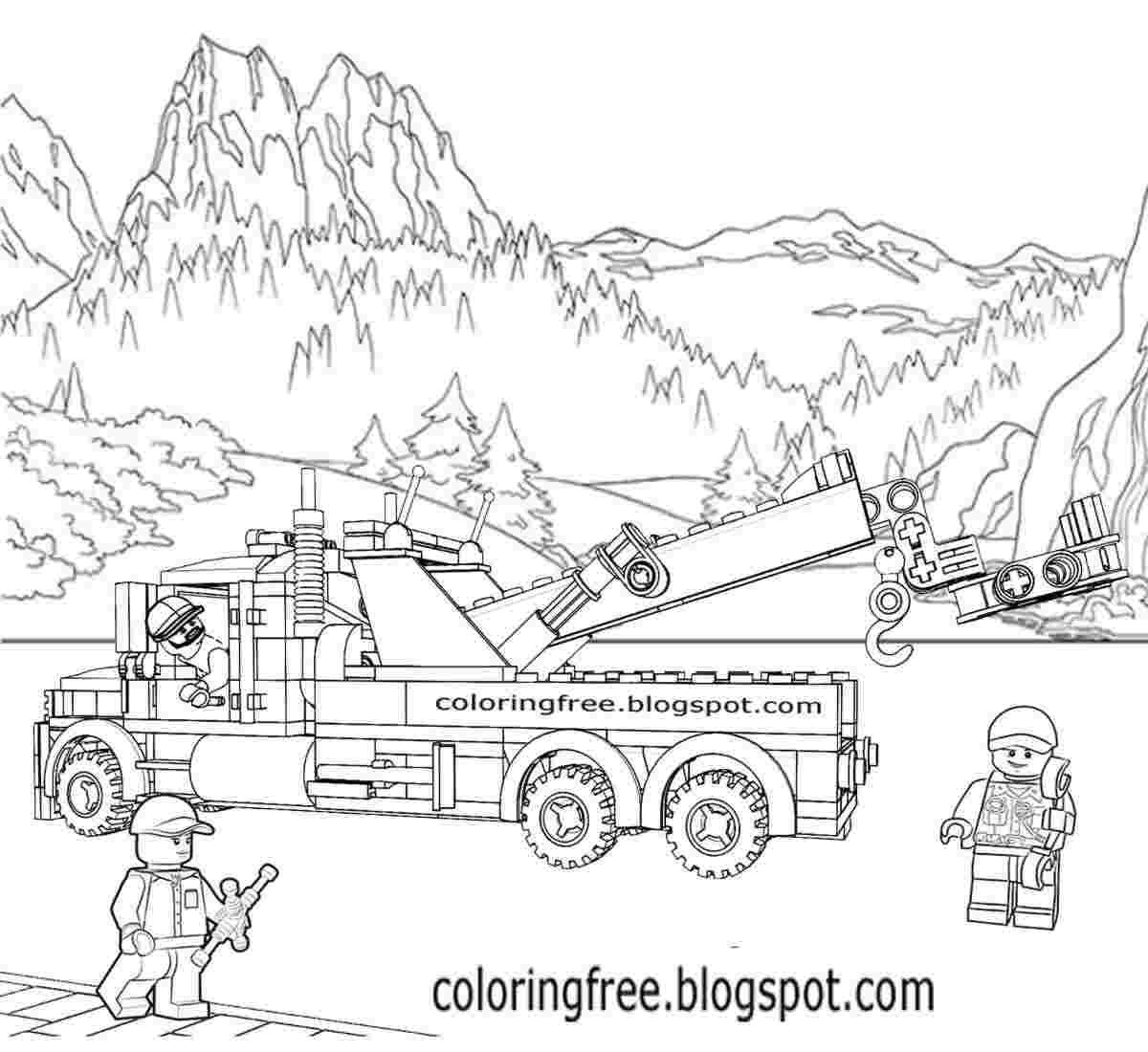 Bulldozer Coloring Page Pages Of Lego City 60074 Activities Genesis 1 Baby Pigs Printable Tie Smiley Face Realistic Lion Witch For Adults Cute Halloween