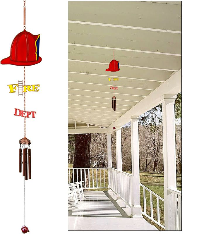 Ordinary Fire Department Christmas Gifts Part - 8: Fire Department Wind Chime @ Greatergood.com. Would Make Great Christmas  Gifts For Our