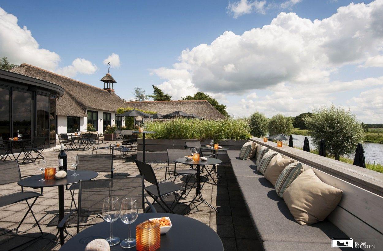Inspirerend hotel aan de Vecht in Overijssel.