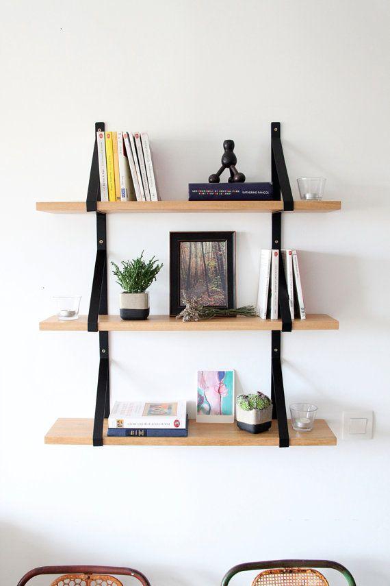 etag res murales bois massif et m tal sur mesure etagere murale bois tag res murale et bois. Black Bedroom Furniture Sets. Home Design Ideas