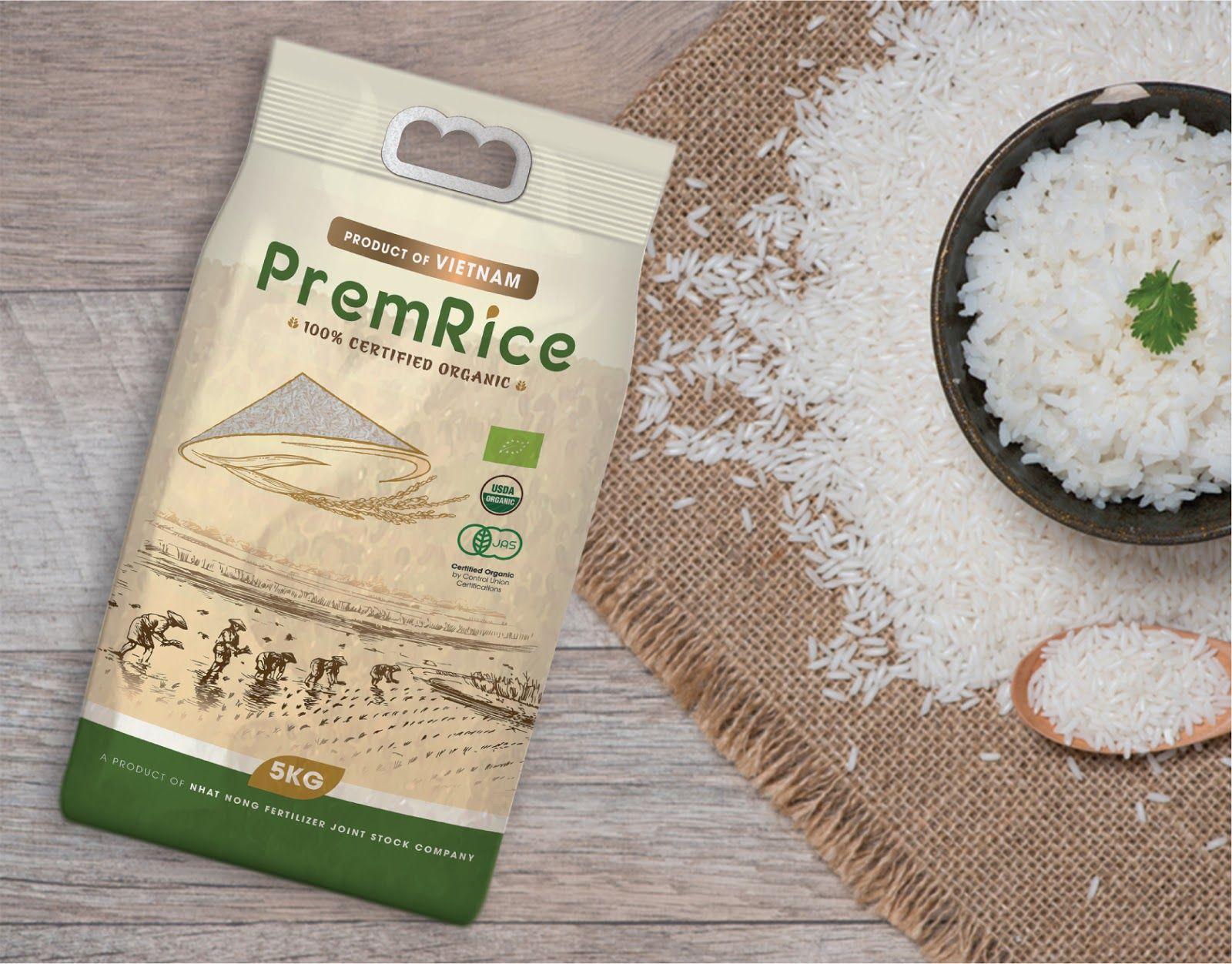 Download Premrice Organic Rice Rice Packaging Organic Rice Food Packaging Design