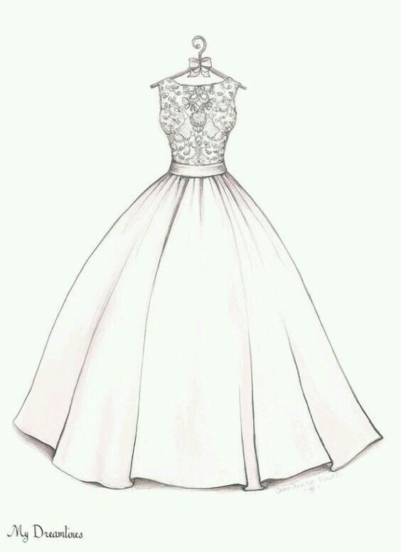 prom dress goals | dibujos a lapiz | wedding dress drawings, wedding