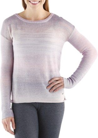 prAna Women's Nightingale Sweater Purple Mountain XL | Nightingale ...