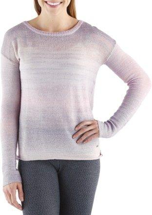 prAna Women's Nightingale Sweater Purple Mountain XL | Nightingale ...