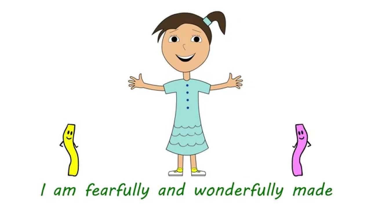 "Early Childhood session 1 ""Wonderfully Made"" ANIMATED"