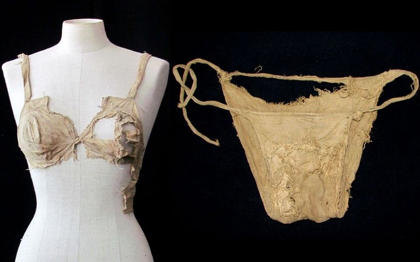 1debb3887ca The bra is commonly thought to be little more than 100 years old as  corseted women abandoned rigid fashions and opted for the more natural look.