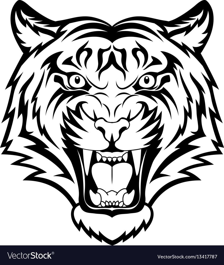 Risultati Immagini Per Angry Tiger Binatang Ilustrasi Binatang Buas