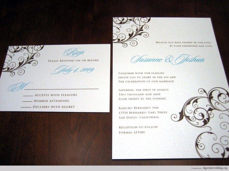 Nigerian Wedding Invitation Wordings Invitations Wedding Invitation Wording Invitations Wedding Invitations